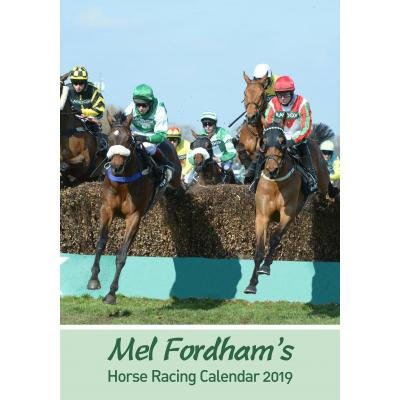The Mel Fordham Horse Racing Calendar 2019 image