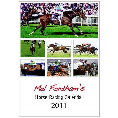 The Mel Fordham Horse Racing Calendar 2011 image