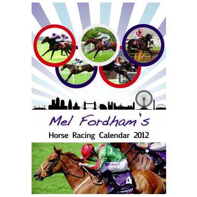 The Mel Fordham Horse Racing Calendar 2012 image
