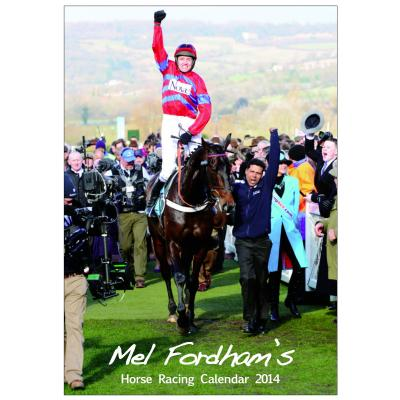 The Mel Fordham Horse Racing Calendar 2014 image