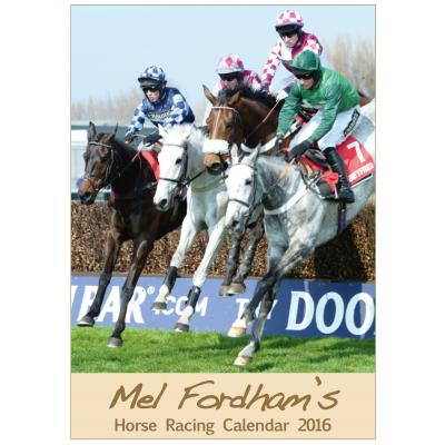The Mel Fordham Horse Racing Calendar 2016 image