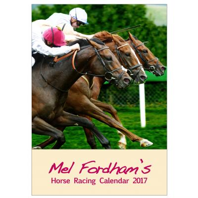 The Mel Fordham Horse Racing Calendar 2017 image