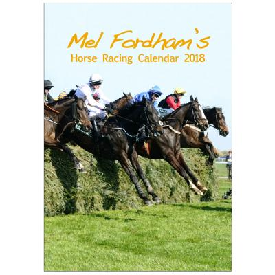 The Mel Fordham Horse Racing Calendar 2018 image